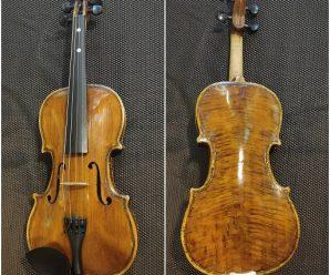 手工小提琴製作,完成自己手做小提琴